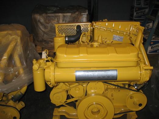 CATERPILLAR-3208TA RBLT MARINE ENGINE
