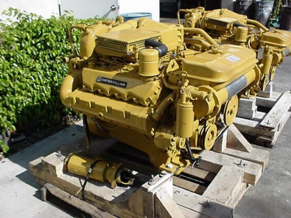 Caterpillar 3208ta Rblt Marine Engine