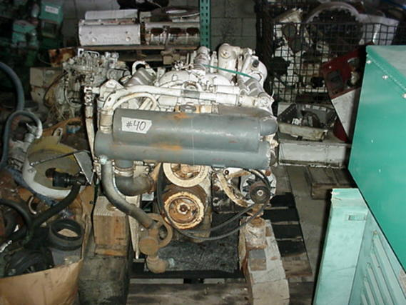DETROIT DIESEL-8 2T CORE MARINE ENGINES