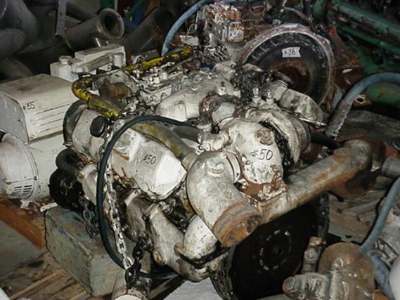 Cummins Diesel Engines >> DETROIT DIESEL-8.2T CORE MARINE ENGINES