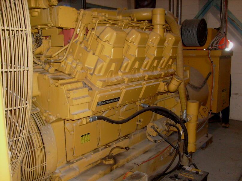 Caterpillar 3508b Dita Used Ind Generator Set