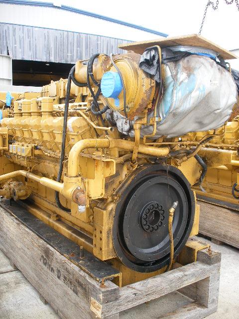 Catepilllar 3516b Used Marine Engine