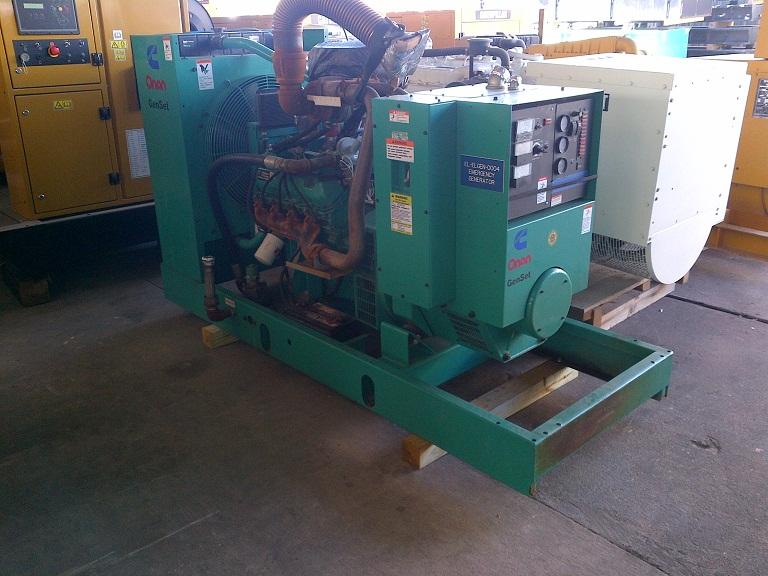 Cummins-100ENBA Nat Gas Industrial Generator set