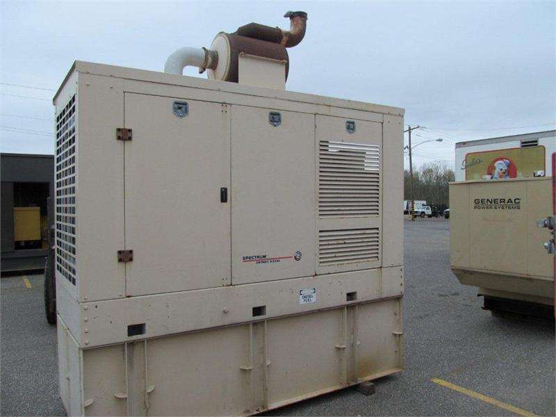 DETROIT DIESEL-6-71 200DS Industrial Generator Set