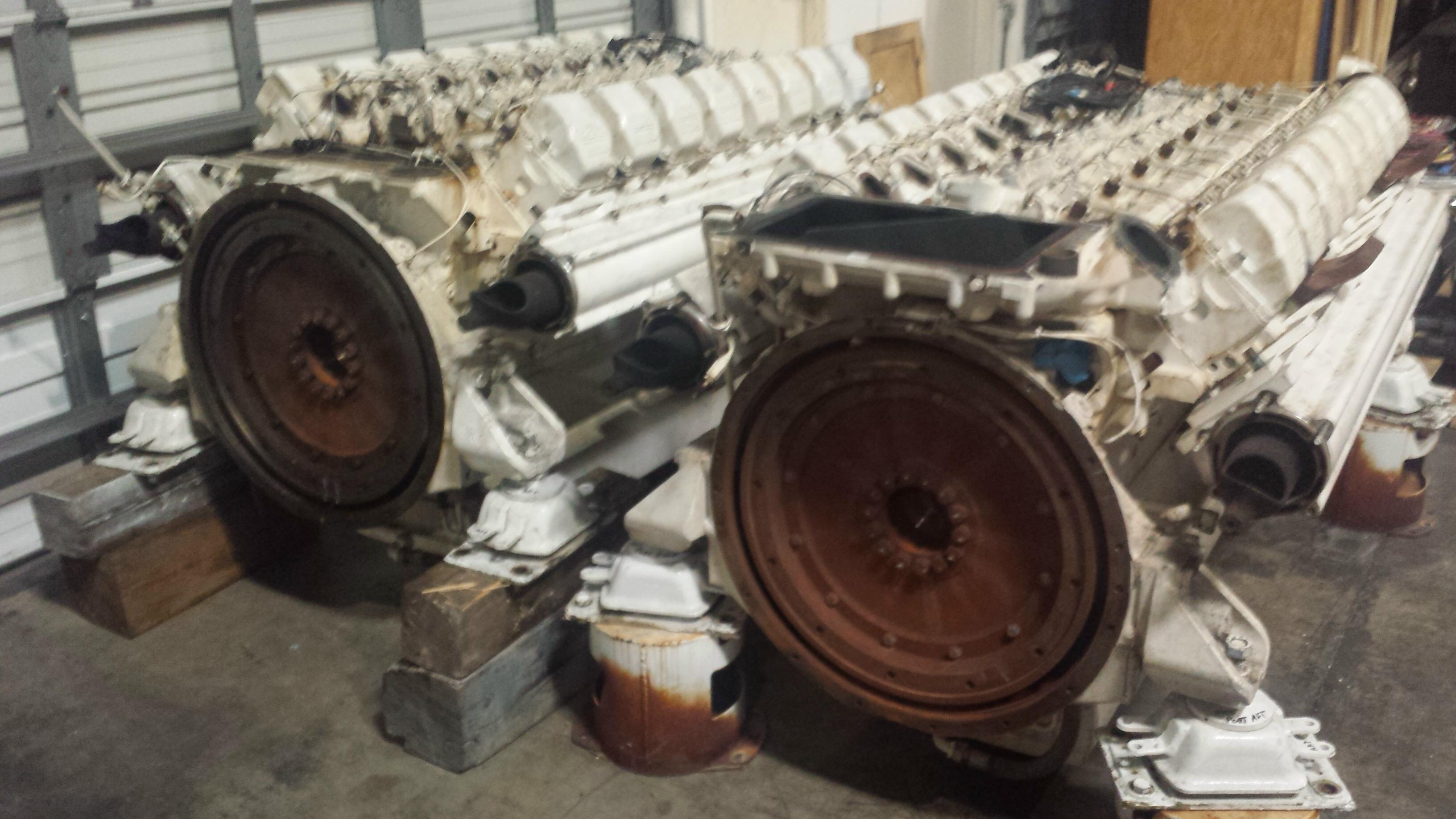 DETROIT DIESEL-16v-2000M USED MARINE ENGINES