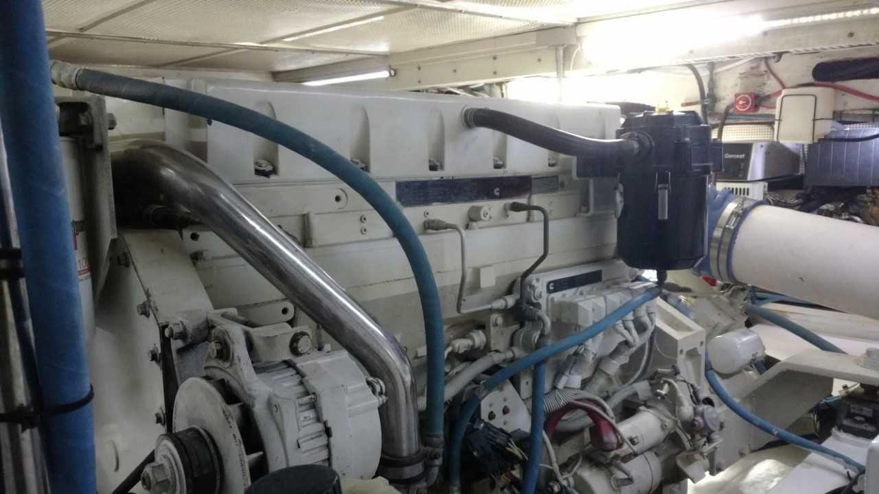 on Caterpillar Marine Diesel Engines