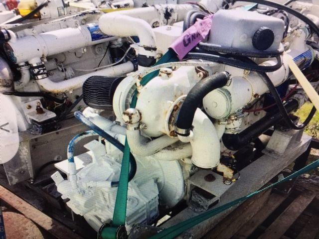 Cummins-6BTA Cummins marine engines low hours since rebuil